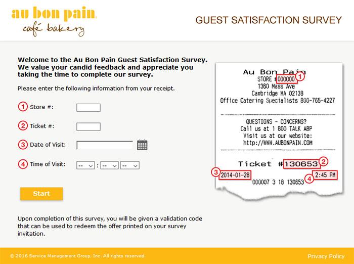 Au-Bon-Pain-Survey-Image