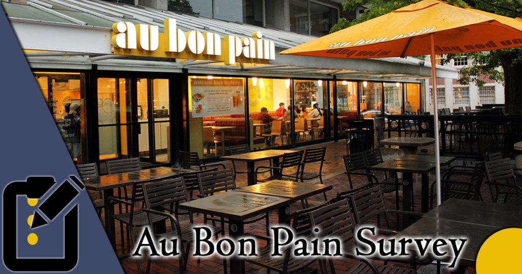Au Bon Pain Survey