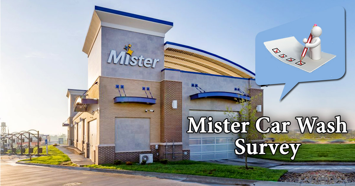 Mister Car Wash Survey