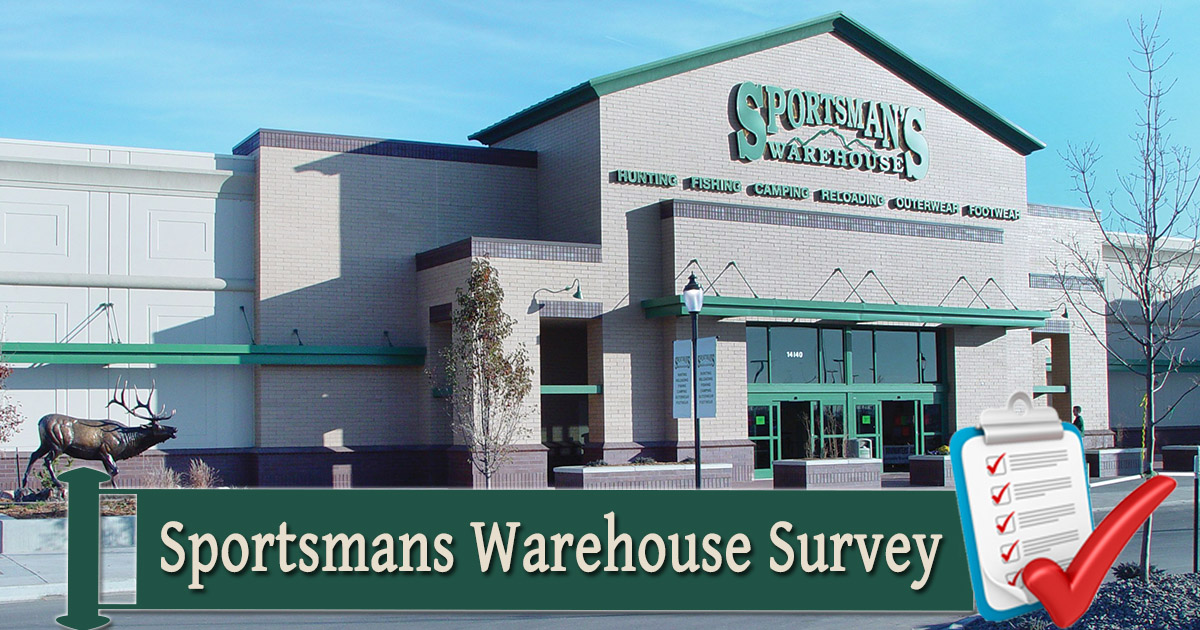 Sportsmans Warehouse Opinion Survey