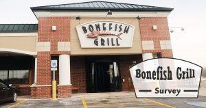 Bonefish Grill Survey image