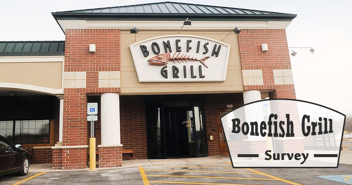 Bonefish Grill Survey Image