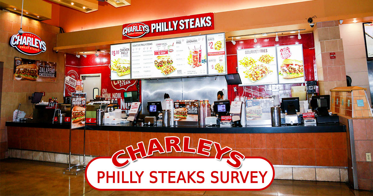 Charleys Philly Steaks Survey Image