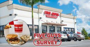 Five Guys Survey image
