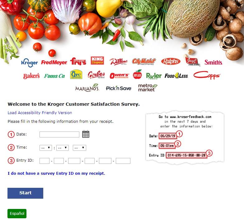 Kroger FredMeyer Customer Satisfaction Survey