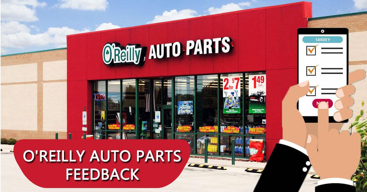 O'Reilly Auto Parts Feedback Image