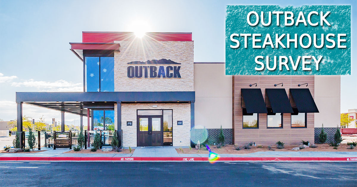 Outback Steakhouse Survey image