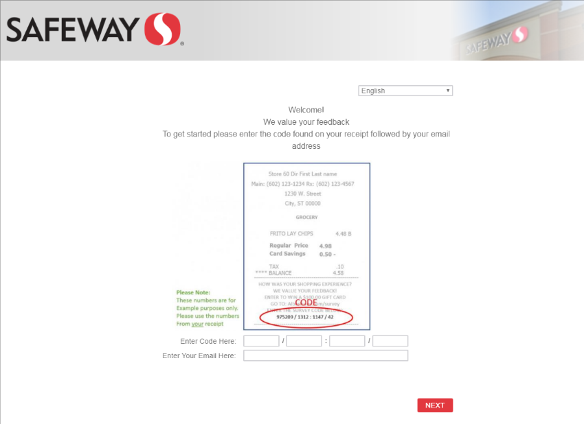 Safeway Customer Satisfaction Survey image