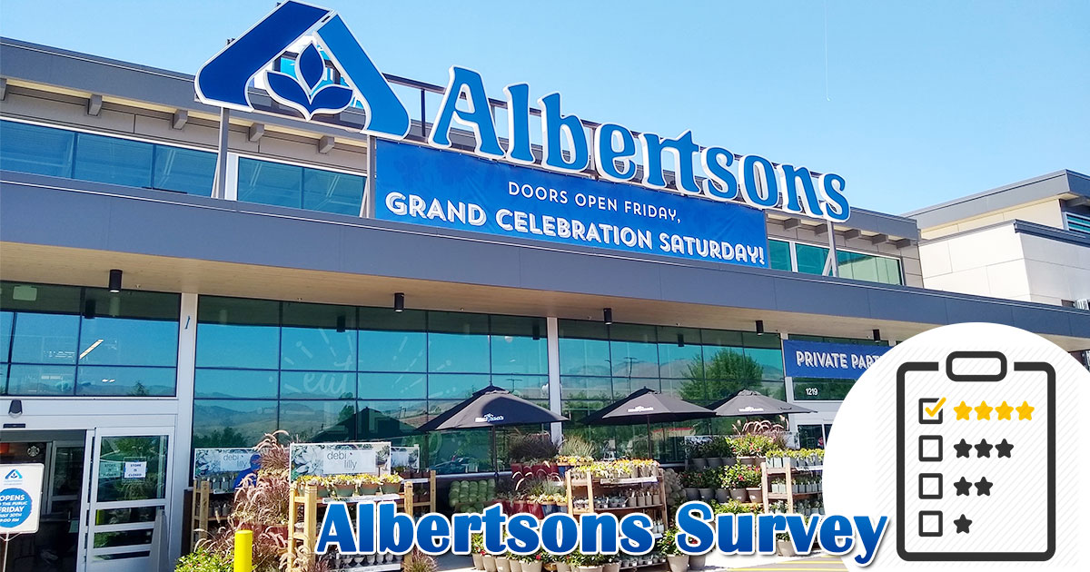 Albertsons Survey Image