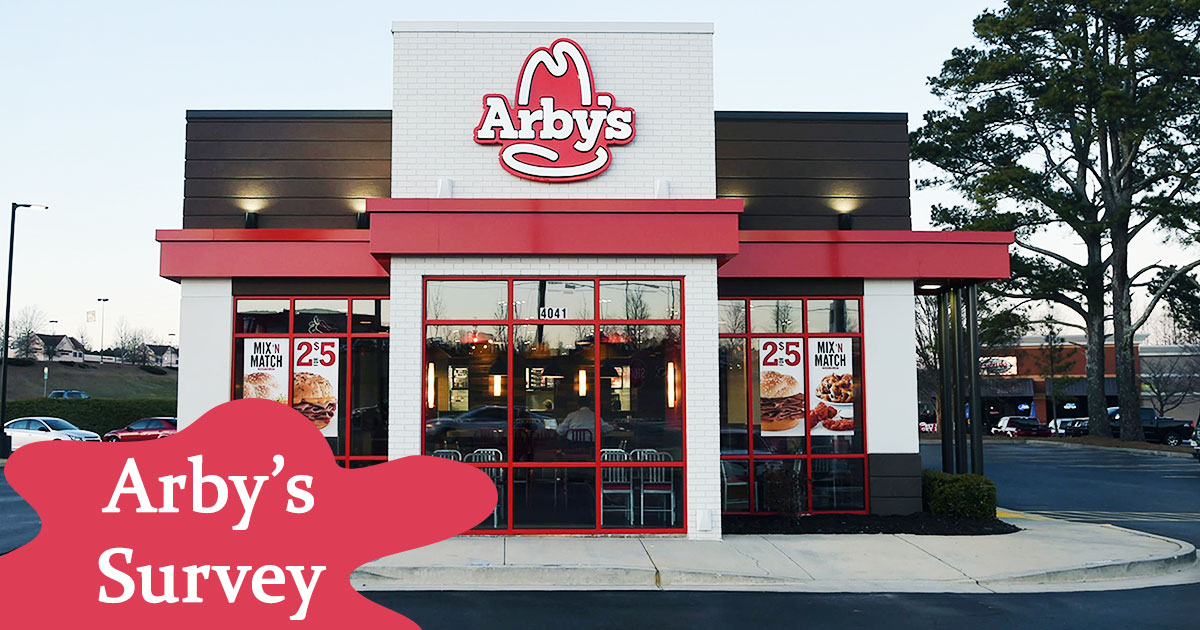 Arbys Survey Image