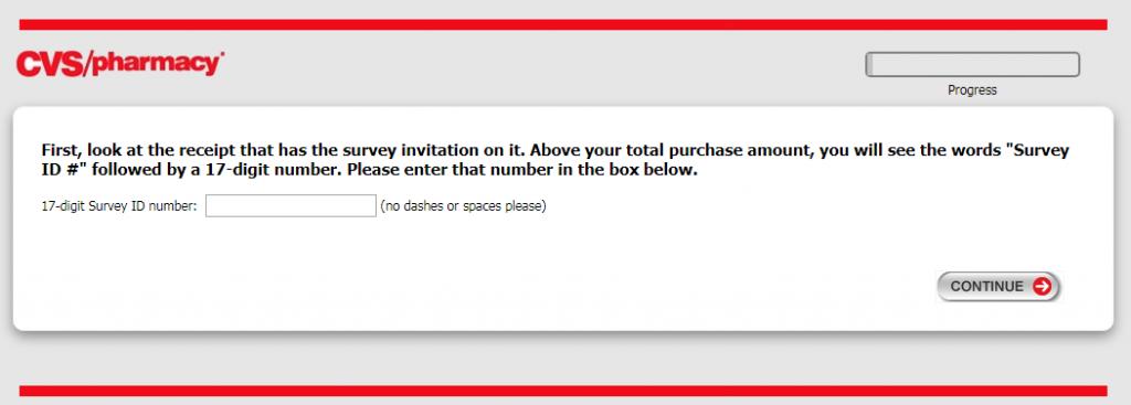 CVS Pharmacy Survey Image