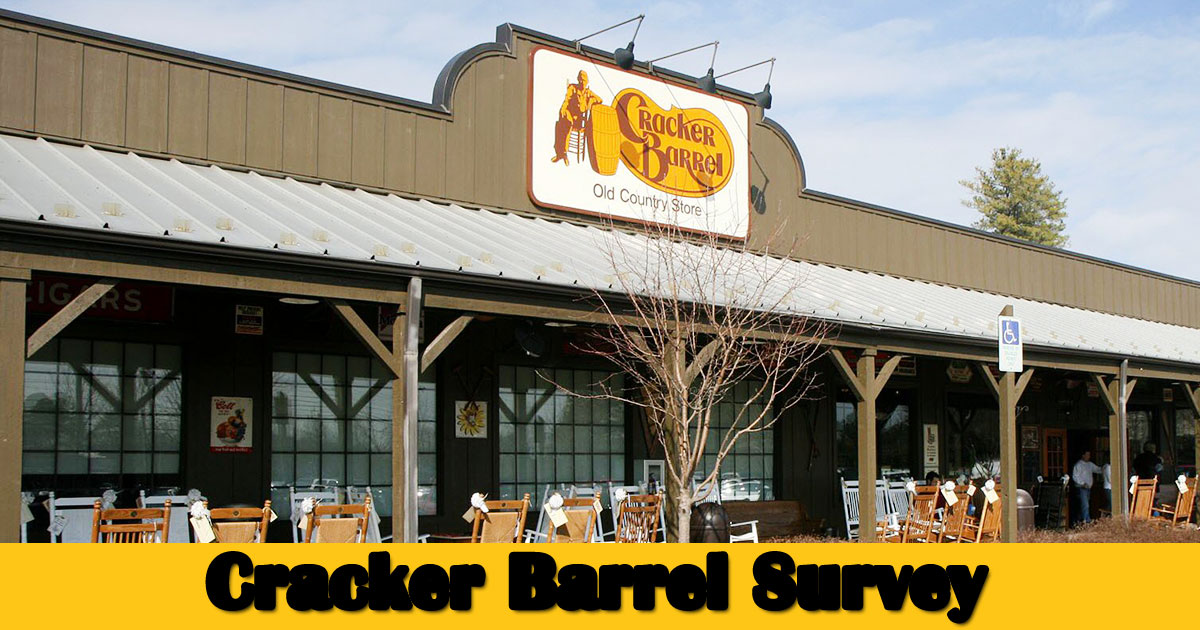 Cracker Barrel Survey image