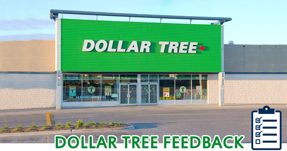 Dollar Tree Feedback image