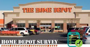 Home Depot Survey image