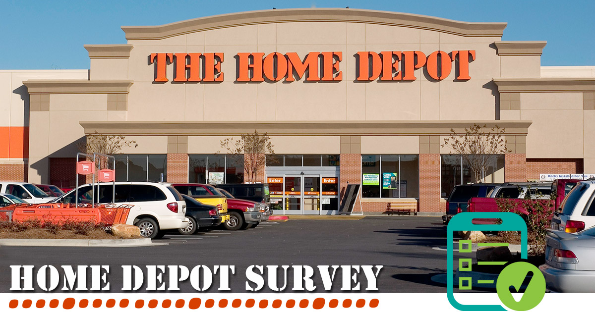 Home Depot Survey Image