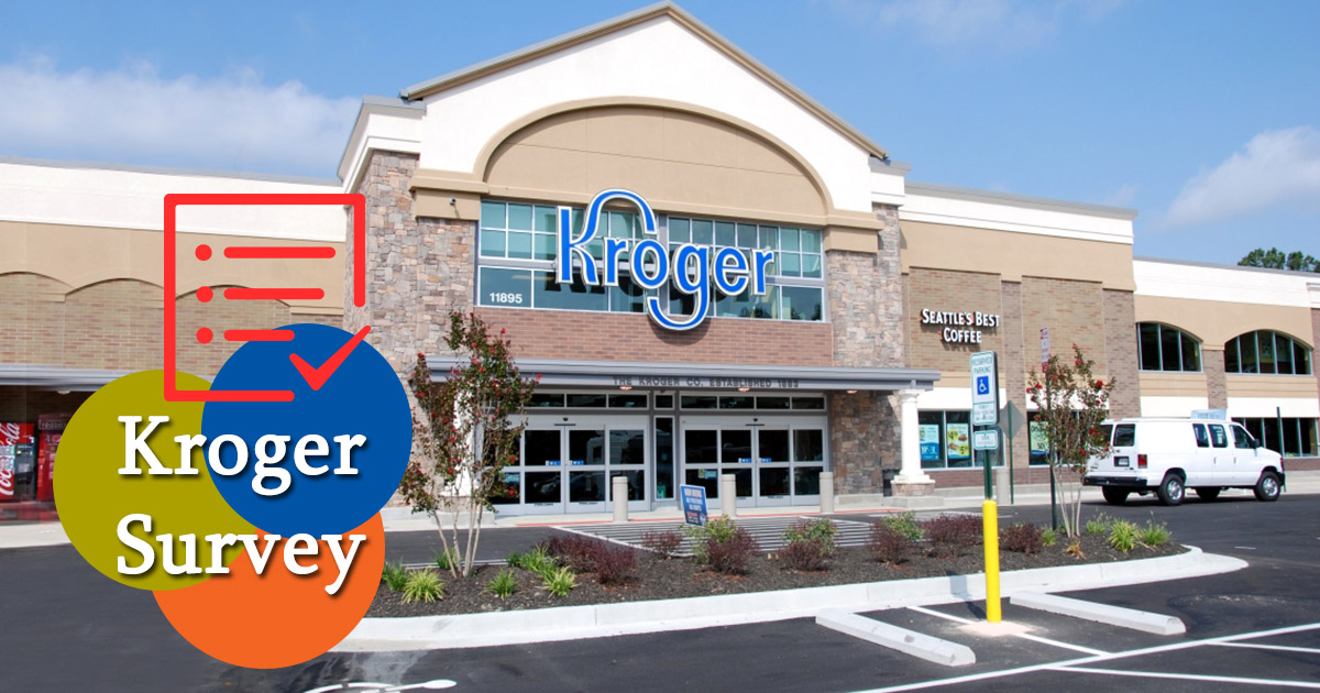 Kroger Survey image