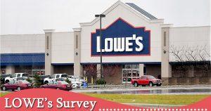 Lowes Survey image