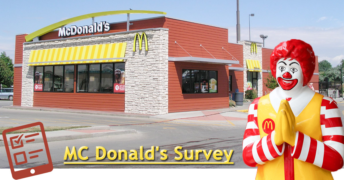 MC Donald's Survey image