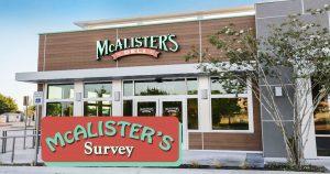 McAlister's Survey image