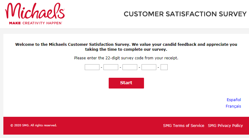 Michaels Customer Satisfaction Survey image