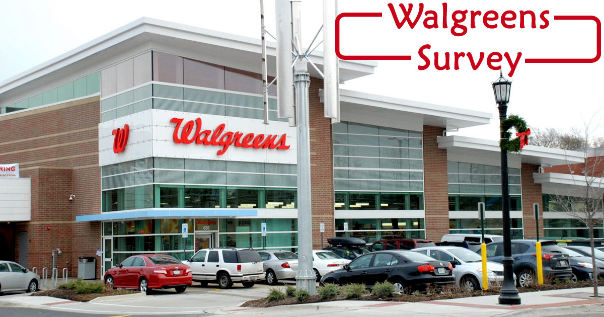 Walgreens Survey image