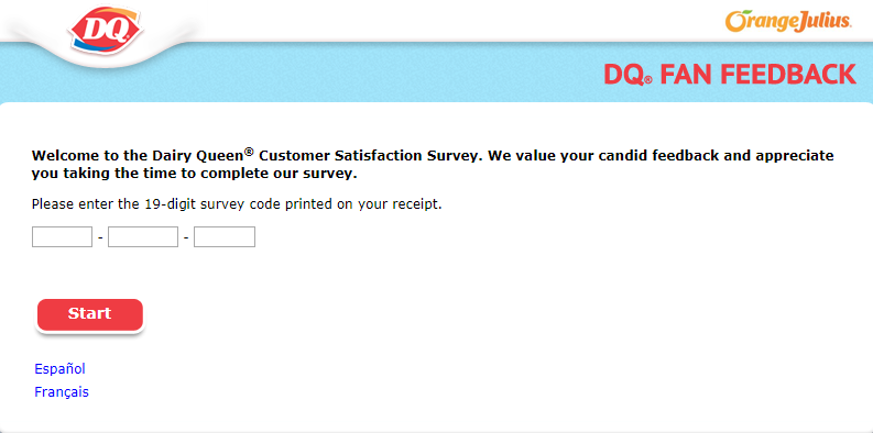 dairy queen customer satisfaction survey image