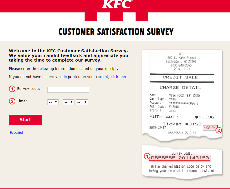 kfc customer satisfaction survey image