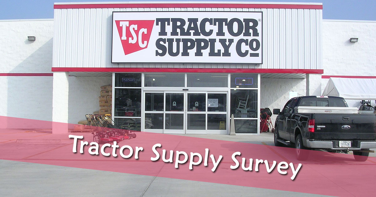 Tractor Supply Survey image
