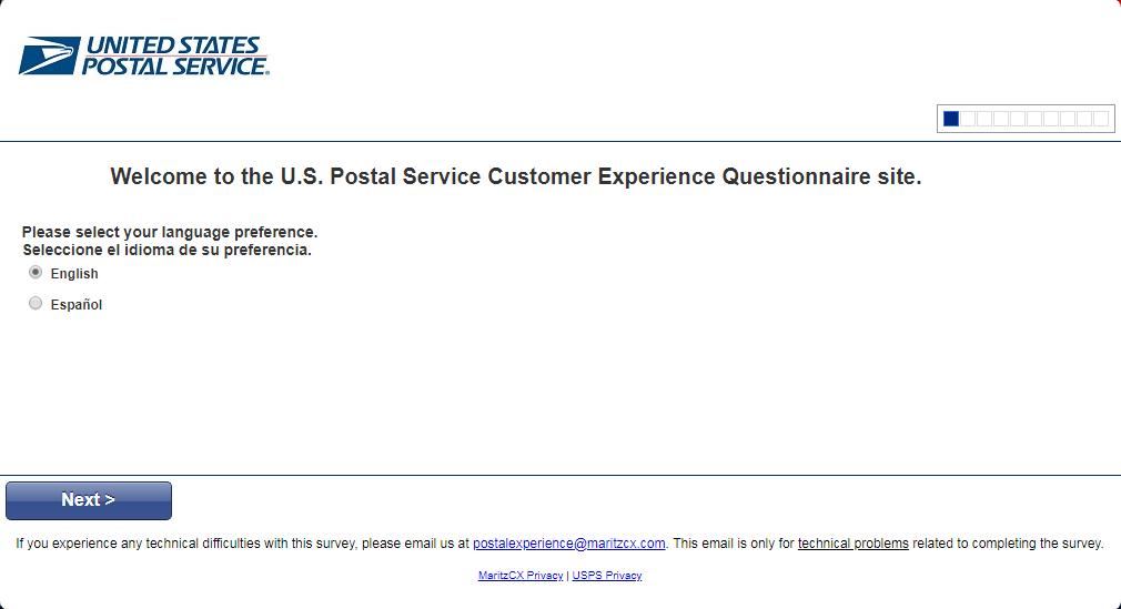 usps customer satisfaction survey image