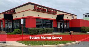 Boston Market Survey Image