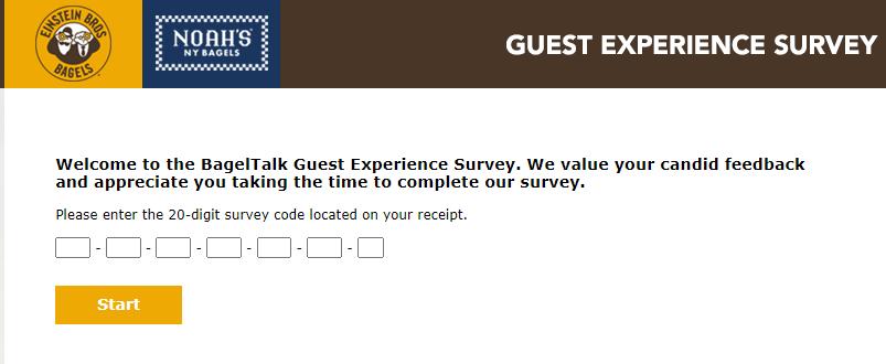 bageltalk guest experience survey image