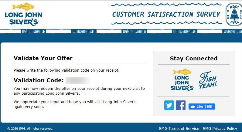 long john silvers coupon code image